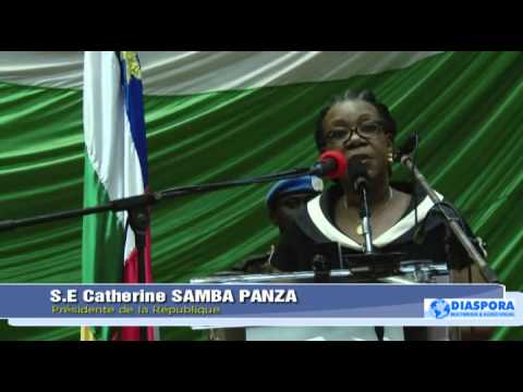 CATHERINE SAMBA PANZA PARLE DE LA MANIPULATION L'ORDRE PUBLIQUE