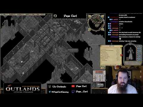 UO Outlands! Grinding for skills and gold! Then! Dungeon! by