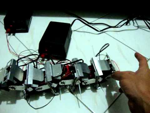 Simple chain type modular robot hardware