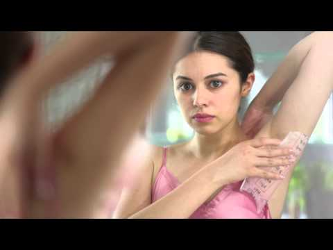 Demo Video for using Veet Wax Strips for Underarms