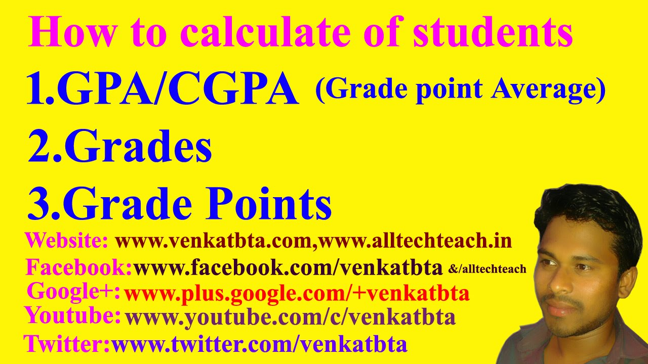 How to calculate GPA/CGPA(Grade Point Average) [ 720 x 1280 Pixel ]