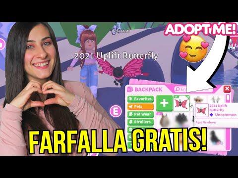 Come AVERE la NUOVA FARFALLA GRATIS su Adopt Me 🦋 ROBLOX ADOPT ME ITA By FrancyDreams