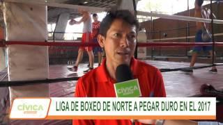 LIGA DE BOXEO DE NORTE DE SANTANDER A PEGAR DURO EN EL 2017