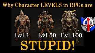 Why character levels in RPGs are STUPID!