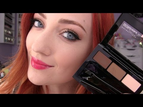 581c2a8fb7c NEW Maybelline Brow Drama Pro Palette | First Impressions - YouTube
