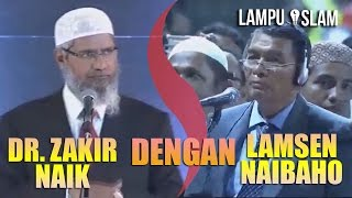 Video ADU ARGUMEN DR. ZAKIR NAIK DENGAN. BAPAK KRISTEN ADVENT download MP3, 3GP, MP4, WEBM, AVI, FLV Oktober 2018