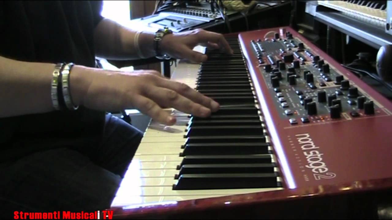 nord stage 2 ha88 demo ac piano by andrea girbaudo youtube. Black Bedroom Furniture Sets. Home Design Ideas