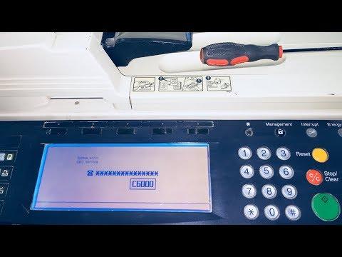 Kyocera mita km 2530 high-speed copy machine scanner/copier/fax.