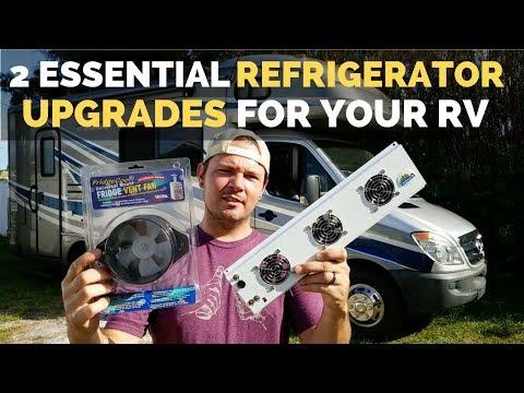 2 Essential RV Fridge Fan Upgrades | DIY RV Remodel | RV Living Full Time | Valterra
