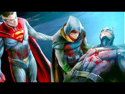 INJUSTICE 2 All Character Endings Multiverse Arcade Ladder Ending