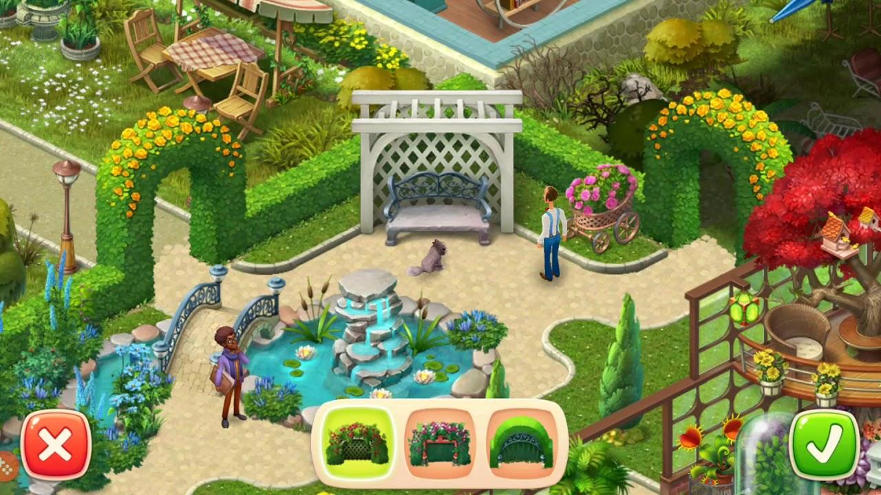 HOMESCAPES Story Walkthrough Gameplay #16 - Garden - Day 5 (iOS ...
