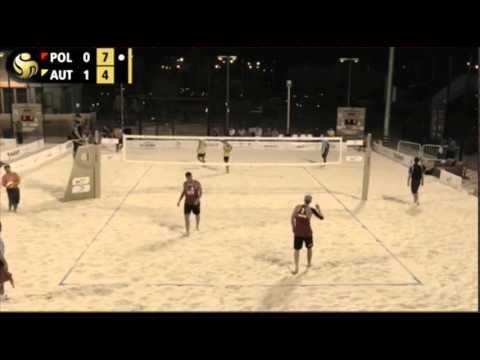 Bryl/Kujawiak POL-Huber/Seidl AUT-Qatar Open 2016-Round 3
