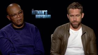 Video Samuel L. Jackson & Ryan Reynolds: THE HITMAN'S BODYGUARD download MP3, 3GP, MP4, WEBM, AVI, FLV November 2017