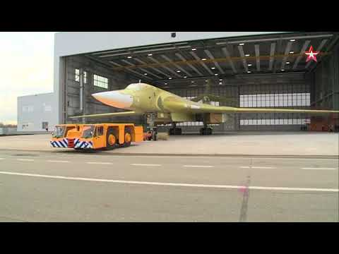 Footage of the rollout of the latest Tu 160 M2