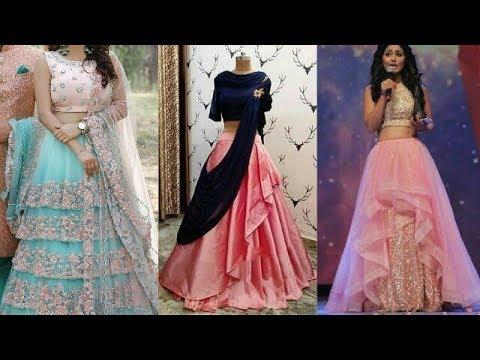 Layered Lehenga Fashion-Telugu Fashion & Design News
