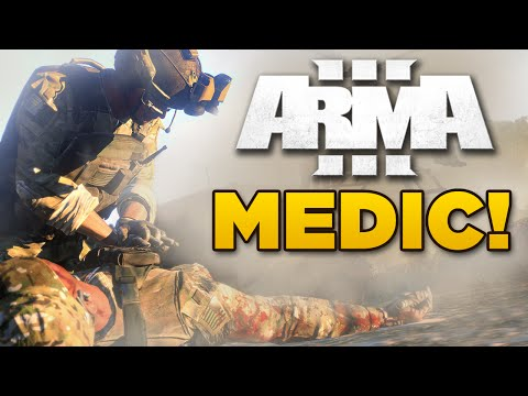 MEDIC! | Arma 3 - Battle at the Cement Factory [JSRS3 sound mod]