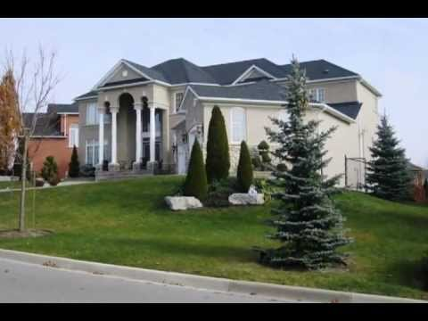 Ambassador Hills Houses And Area Vaughan Ontario Youtube