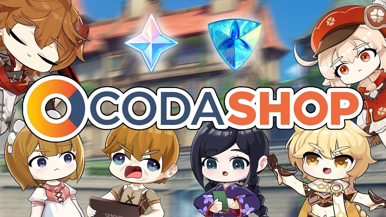 Korean Codashop launching Event in Genshin animation