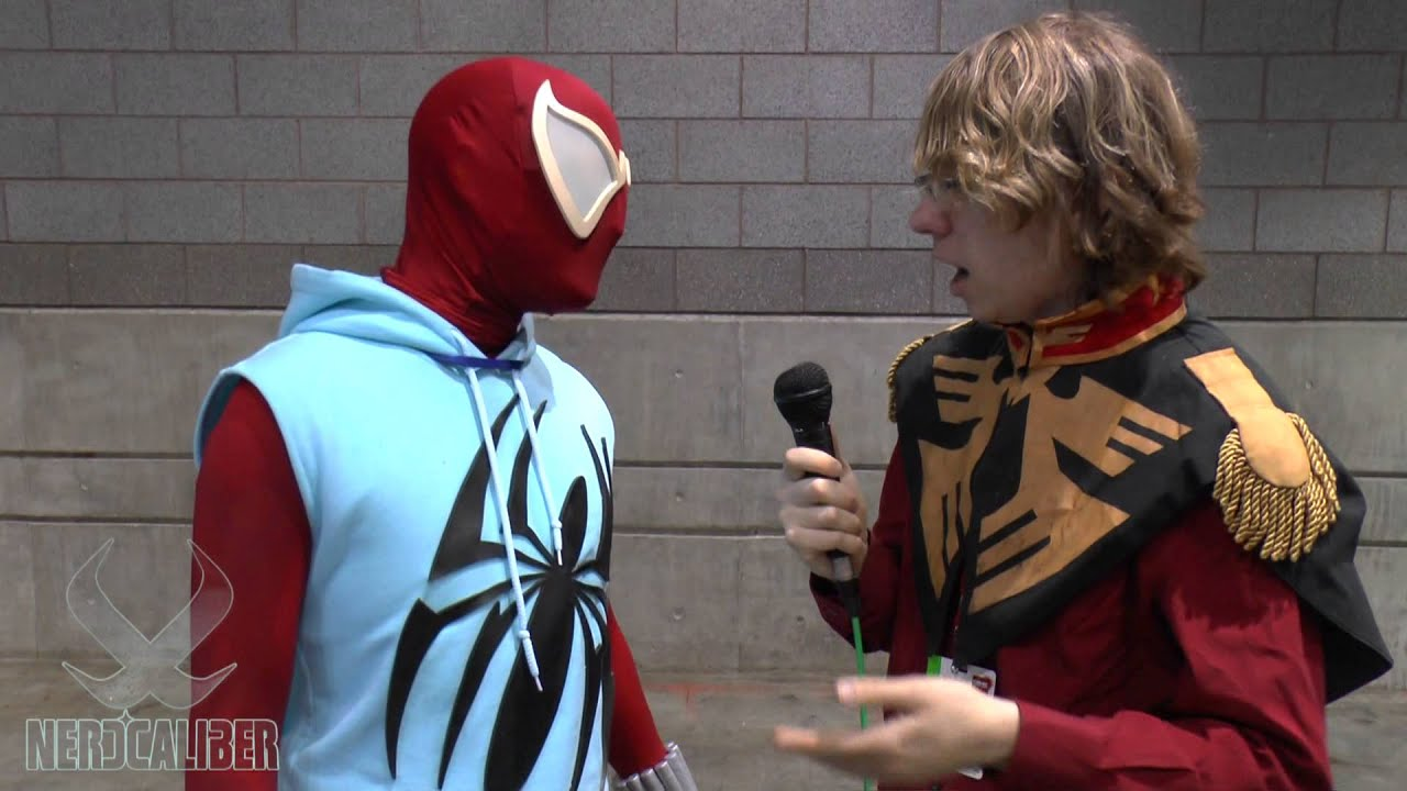 Wallpaper Spiderman 3d Scarlet Spider Cosplay C2e2 2013 Youtube