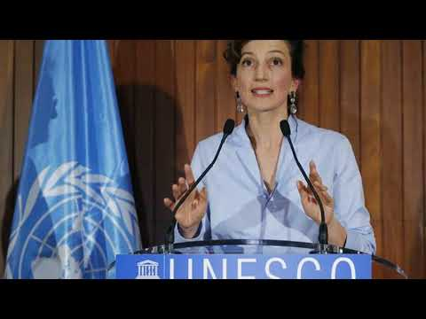 Ex-French culture minister Audrey Azoulay elected to head Unesco