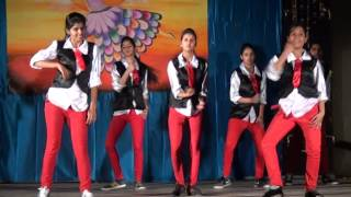 western dance at  Annual Day Celebration of Birla Balika Vidyapeeth, Pilani