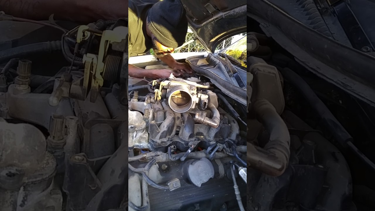 Heater Hose Replacement Under The Intake Manifold Connected To 2000 Pontiac Grand Prix Engine Diagram Water Pump On A 3 8 Motor Back Of