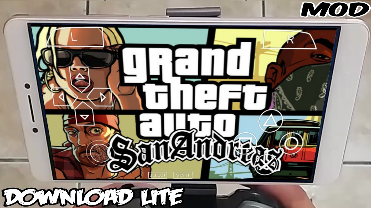 gta san andreas psp iso rar android