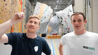 Biggest Climbing Gym EVER!  -  New gym!