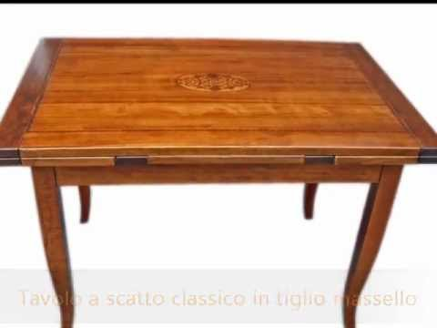 Tavoli Allungabili In Legno Arte Povera.La Commode Tavoli Produzione E Realizzazione Mobili Classici Arte