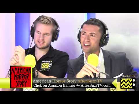 """American Horror Story After Show Season 2 Episode 2 """"Tricks and Treats""""   AfterBuzz TV"""