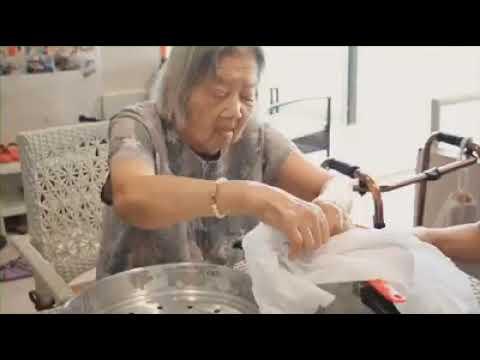กิจกรรมทำขนมชั้นดอกอัญชัน By CNH NURSINGHOME
