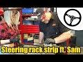 Steering rack strip & inspection ft. Tool Girl Sam #1507