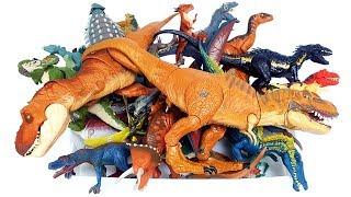 쥬라기월드 공룡 슐라이히 티렉스 프테라노돈 브라키오사우루스 트리케라톱스 공룡피규어 장난감