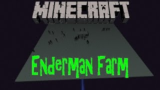 Minecraft: Enderman farm using Endermites 1.8