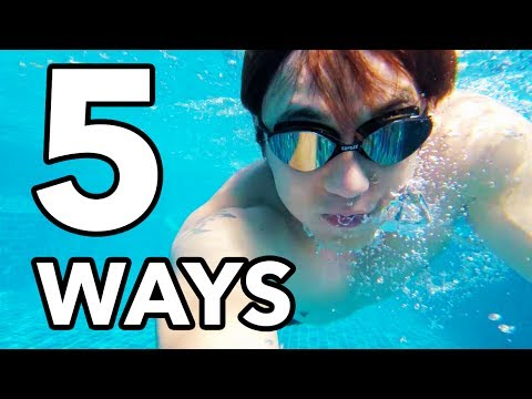 5 Ways to Learn Swimming (+How I Learned to Swim)