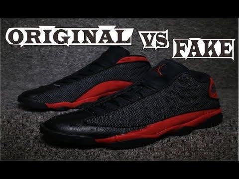 promo code 3caa4 38ee7 Nike Air Jordan 13 Retro Bred Original & Fake