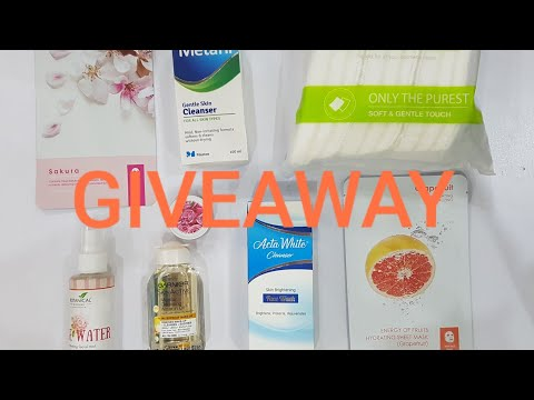 SKIN CARE ROUTINE / MY FIRST GIVEAWAY