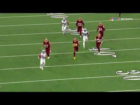 Ryan Switzer electrifying punt return TD: Cowboys vs Redskins Week 13