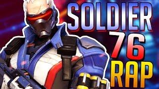 SOLDIER 76 RAP - RUSTAGE [OVERWATCH]