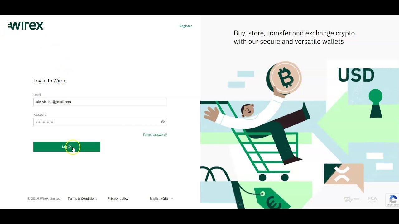 come caricare bitcoin