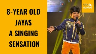 Little Champ of Delhi: Eight-year-old Jayas has become singing sensation