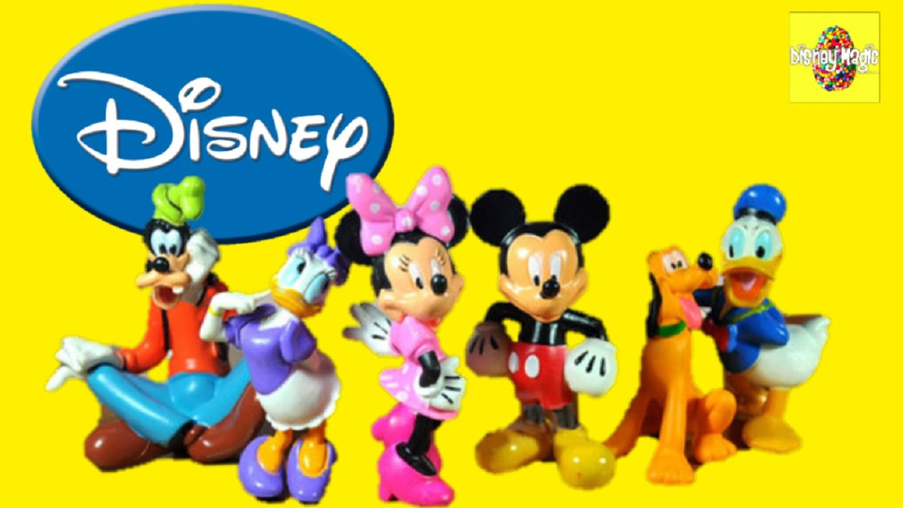 Disney minnie mouse and mickey mouse club house toys from disney store youtube - Disney store mickey mouse ...