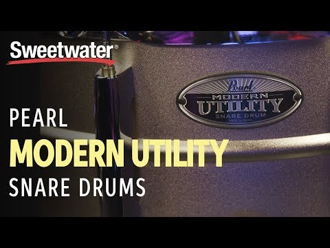 Pearl Modern Utility Snare Drums Demo