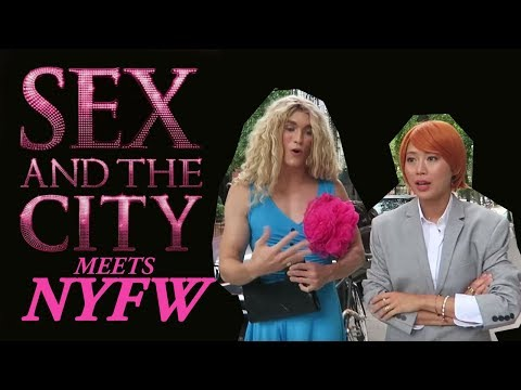 Carrie Dragshaw @ NYFW: Sex And The City Realness | Aimee Song