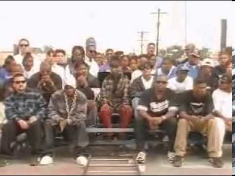 South Central Cartel ft Ice T , Treach , Murder Squad , Ant Banks & Spice 1 - No peace