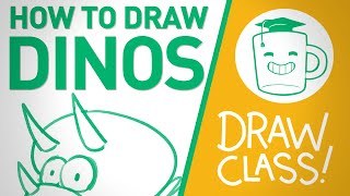 How To Draw Dinosaurs - DRAW CLASS