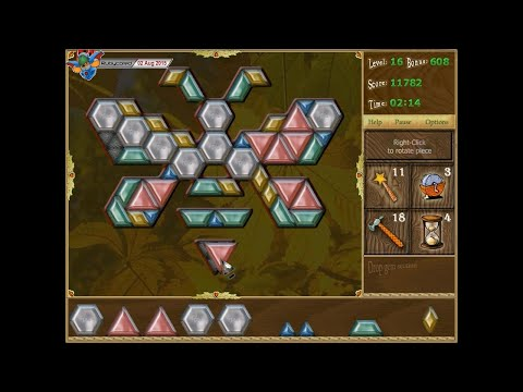 Puzzle Inlay (2002, PC) - 1 Of 5: Triangle Solving [720p60]