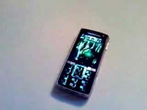 Sony Ericsson K850i VideoTone+Boot, Flash Quake Theme+Clock