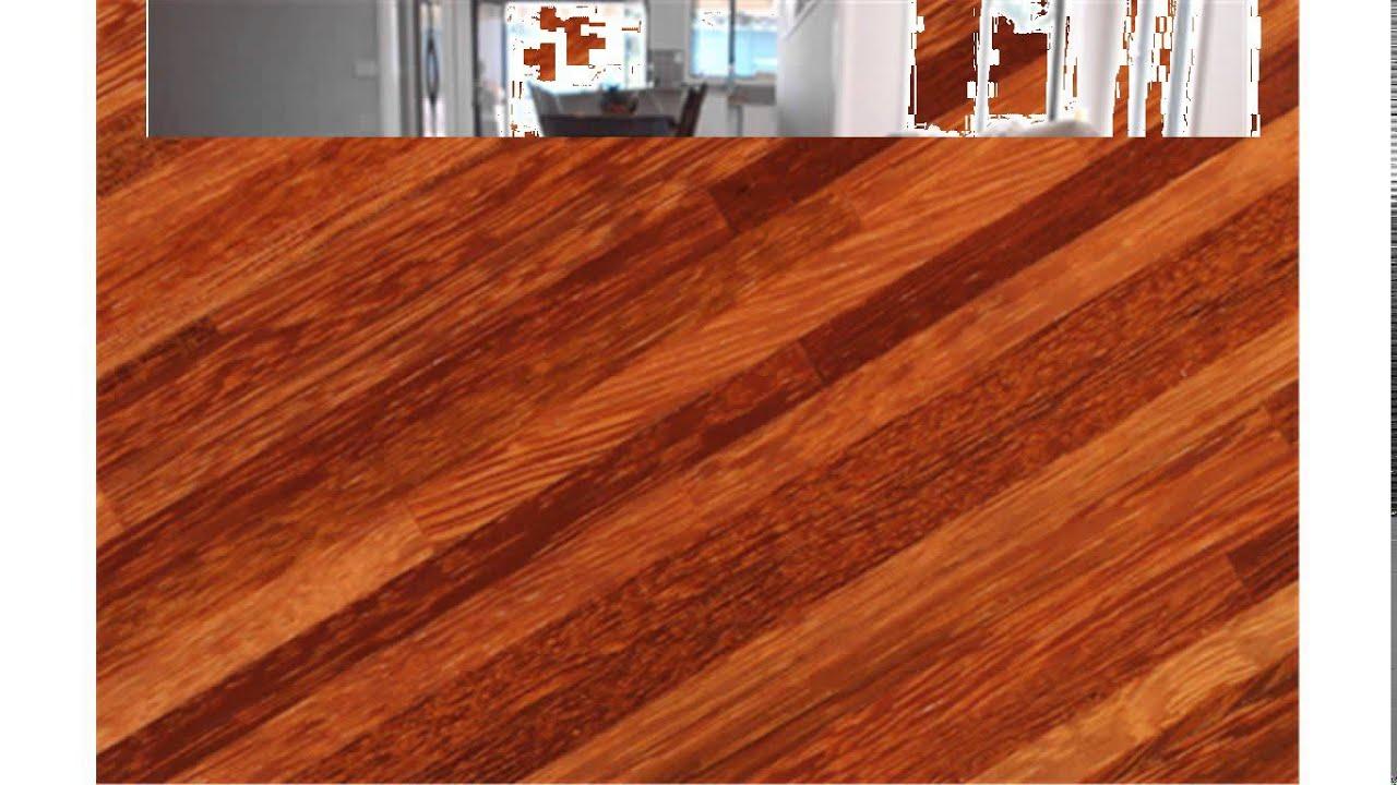 Kempas Hardwood Flooring Youtube