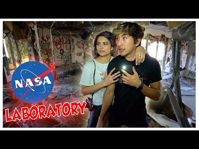 Exploring Abandoned NASA Chemical Laboratory!! (SKETCHY)